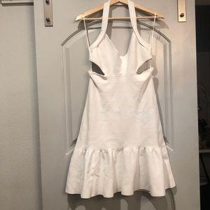 Guess bandage cut out halter dress. GUC!
